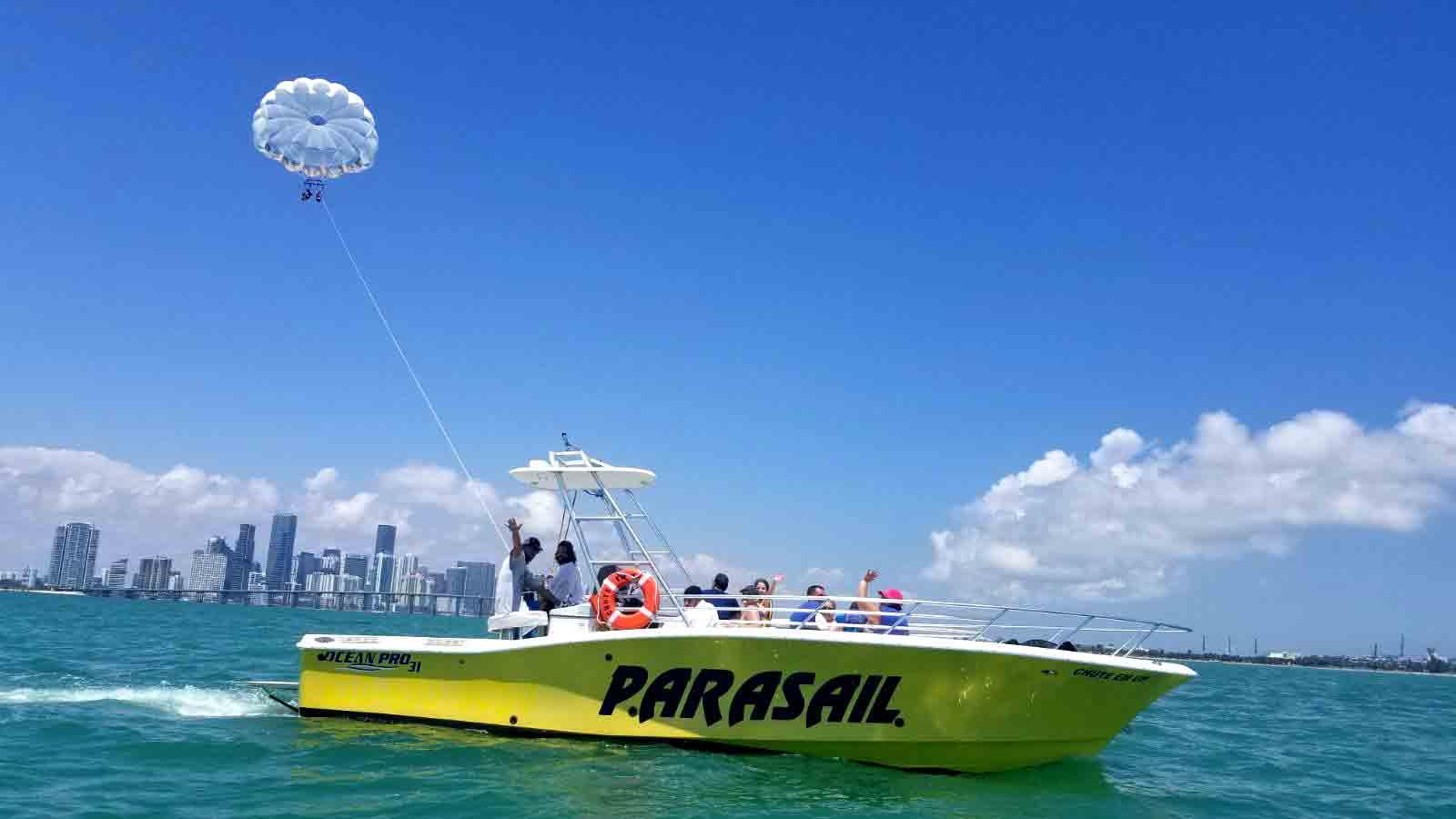 Parasail Miami